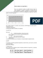 Analisis de Regresion Simple Logaritmica