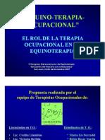 Equinoterapia Ocupacional Congreso de Equinoterapia San Juan 2007