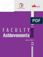 MSA University Arts Faculty Achievement Book 2016 2017