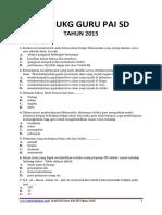 SOAL UKG GURU PAI SD.pdf