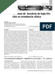 Efectividad de Brackets de Baja Friccion