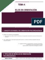 Modelos de Orientación