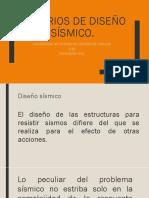 Criterios de Diseño Sísmico Del Reglameneto de Construcciones