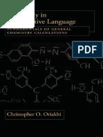 Chemistry in Quantitative Language