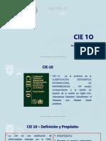 CIE 10 Presentación_ HG. Monte Sinaí Capac