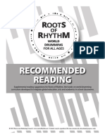 Roots of Rhythm • Recommended Reading