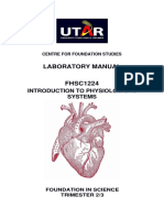 FHSC1224 Intro to Physio Lab Manual 201801