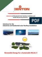 Acenton Company Profile Rooftop Installation
