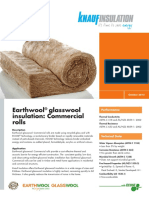 Earthwool® glasswool insulation Commercial rolls