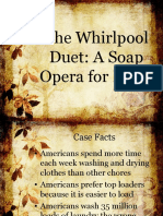 Marketing - The Whirlpool Duet a Soap Opera for Kids Case Study