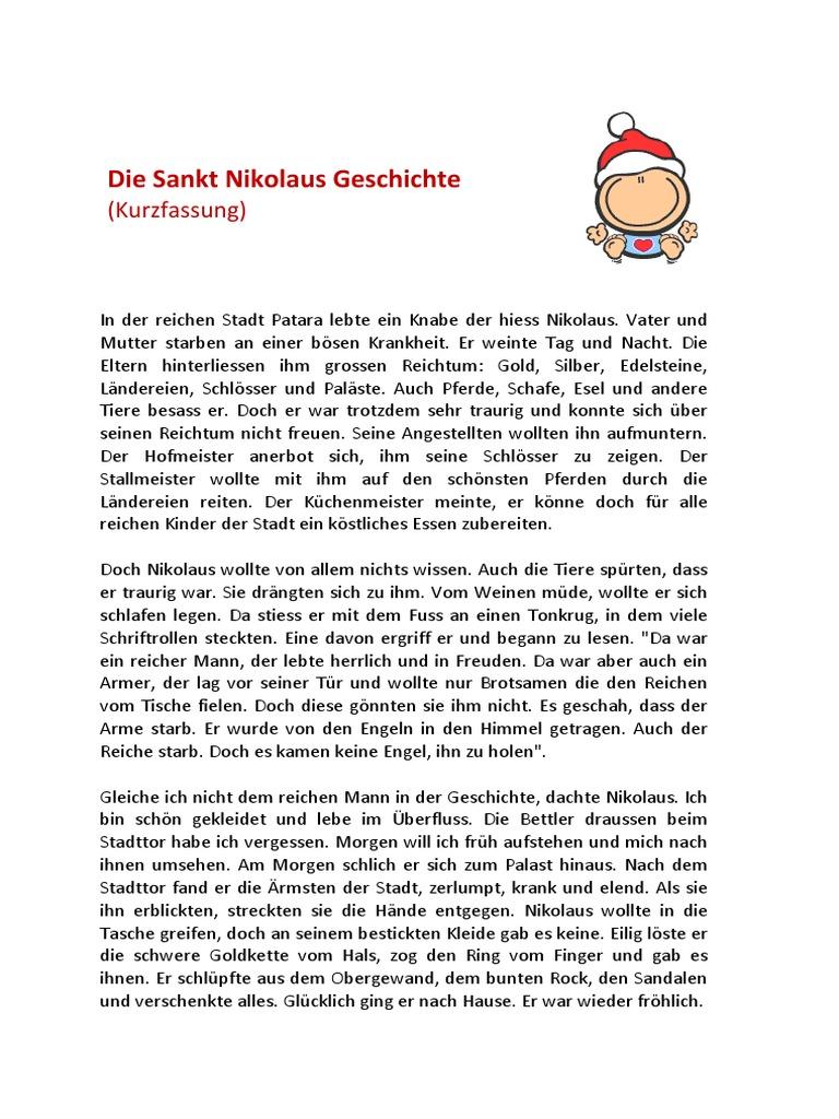 Sankt Nikolaus Geschichte