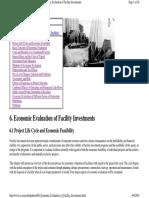 06_Economic Evaluation of Facility