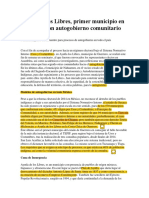 Ayutla de Los Libres Primer Municipio en Guerrero Con Autogobierno Comunitario