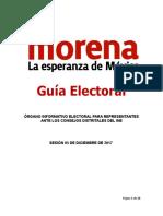 Guia Electoral Distrital 05 de Diciembre 2017