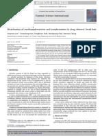 Distribution of Methamphetamine and Amphetamine in Drug Abusers Head Hair