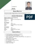Porag Resume
