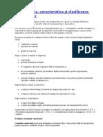 Componenta,caracteristica  si clasificarea  creantelor.doc