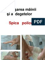Bandajarea mainii si a degetelor