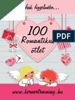 100 Romantikus Otlet eBook