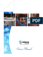 Hot-spring Spas Owners Manual 2005