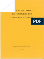 1966-Critical Materials Requirements for Petroleum Refining