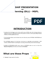 DLL MSFL Presentation
