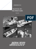 Manuel Utilisation Bateau Joker Boats