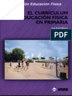 El Curriculum de La E.F. en Primaria