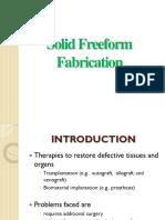 Solid Freeform Fabrication