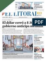 El Litoral Mañana | 14/08/18