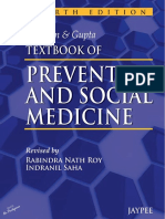 Textbook of Preventive and Social Medicine (4th Ed.)