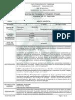 1. Programa de Formación Titulada, Manejo Ambiental