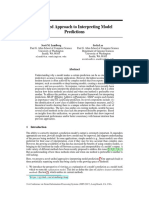 7062 a Unified Approach to Interpreting Model Predictions