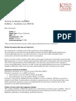 Ethics Syllabus 4AANA002 Syllabus 2015 16