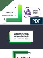 Kanban System Design [KMP I]