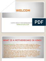 What is a Motherboard in Hindi