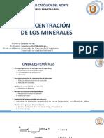 CONCENTRACION UCN Clase 5 Ejercicios de Flotacion