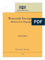 Ramesside Inscriptions Historical and Bi (1)