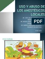 anestesicoslocales1-110725005950-phpapp01