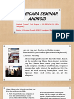 Pembicara Seminar Yang Baik, Contact Center/ Fast Respon