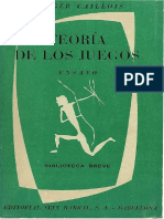 Teoría de Los Juegos - Roger Caillois