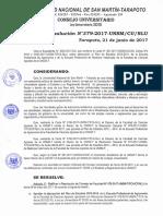 Plan de Estudios Agronomia