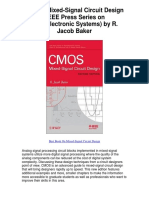 CMOS Mixed Signal Circuit Design IEEE Press Series on Microelectronic Systems by R Jacob Baker - 5 Star Review.pdf