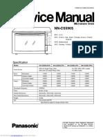 Panasonic NN-CS596S oven service manual