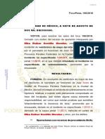 Texto de la Resolución del Primer Tribunal Unitario que decreta la libertad de Elba Esther Gordillo