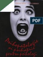 Psihopatologie Si Psihiatrie Pentru Psihologi - F Tudose & C Tudose & L Dobranici