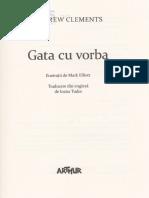 Gata Cu Vorba - Andrew Clements