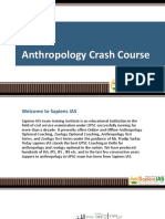 Anthropology Crash Course