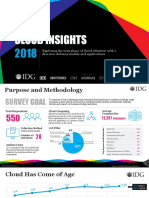 IDG 2018 Cloud Computing Research