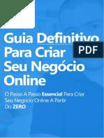 eBook Guia Definitivo Para Criar Seu Negócio Online (2018)